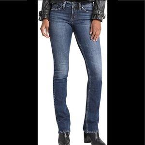 Silver Suki Fluid denim jeans